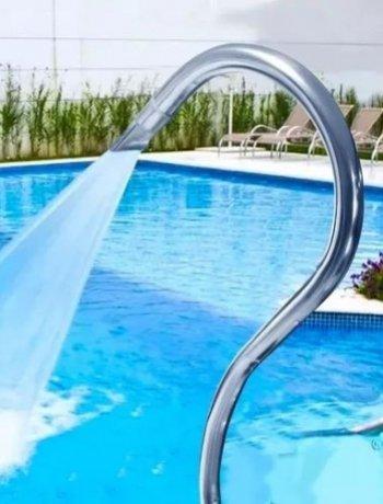 Cascata Inox para piscina
